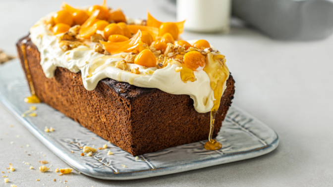 Spiced HEBA Carrot Cake