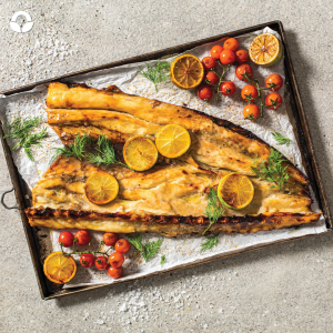 Snoek Braai: Snoek and Easter go hand in hand and why not braai a whole snoek over the weekend, served with traditional roosterkoek and cinnamon sweet potatoes?