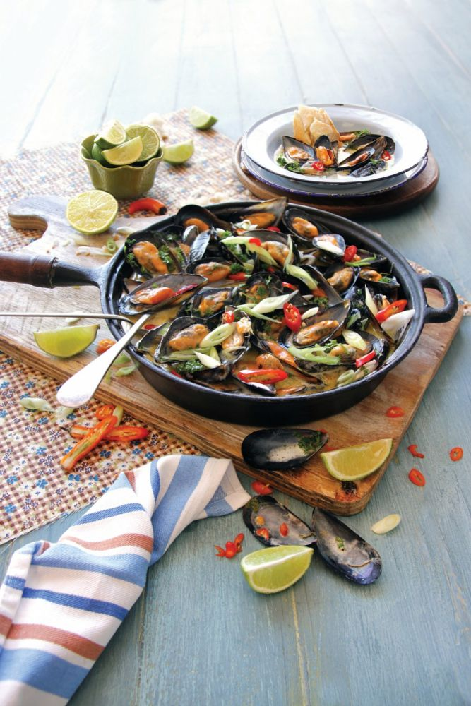 Unbelievable Mussels with Chilli