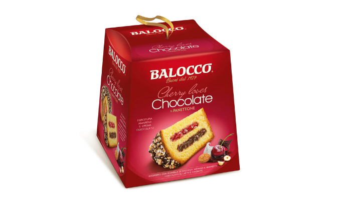 Balocco Panettone Cherry Loves Chocolate