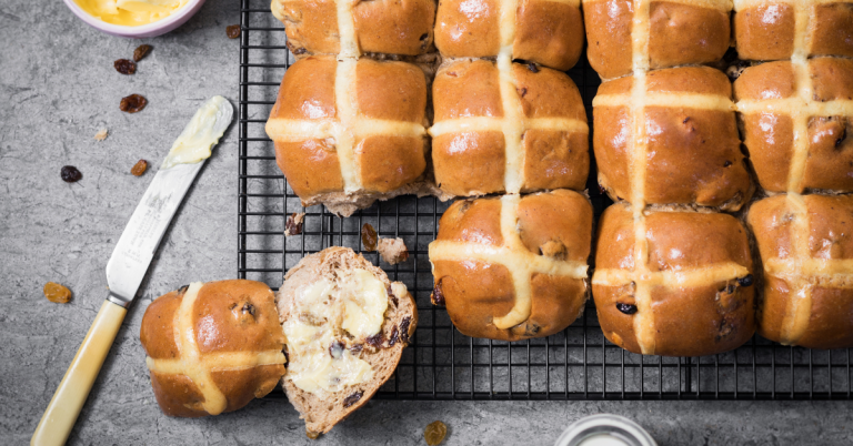 How do you eat your Hot Cross Buns?