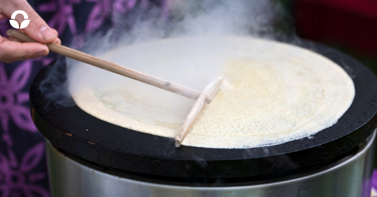 crepe-cooking