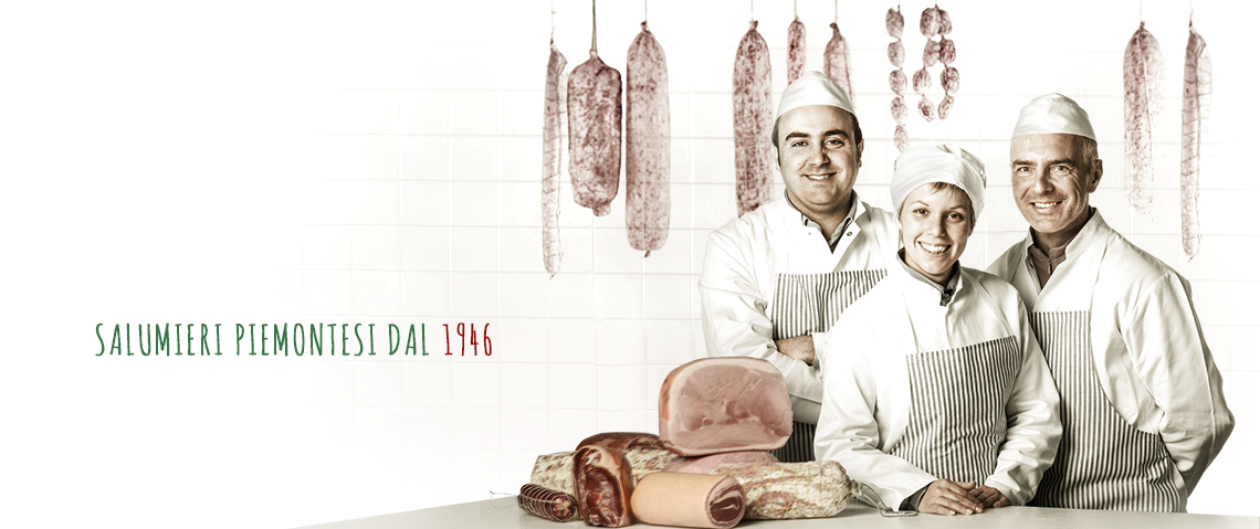 Cured Italian meats from Raspini