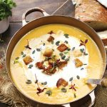 Thai Butternut Curry Soup with Coconut Cream