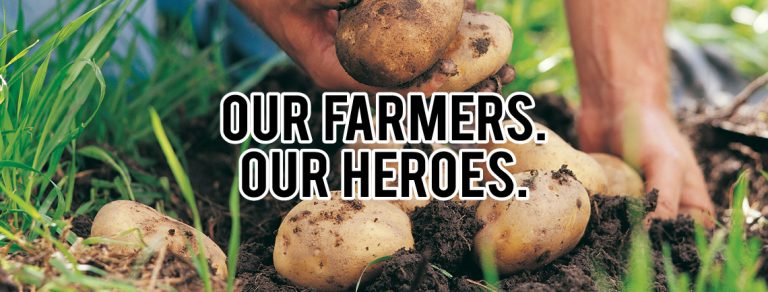 Our Farmers, Our Heroes. #FoodLoversUnite