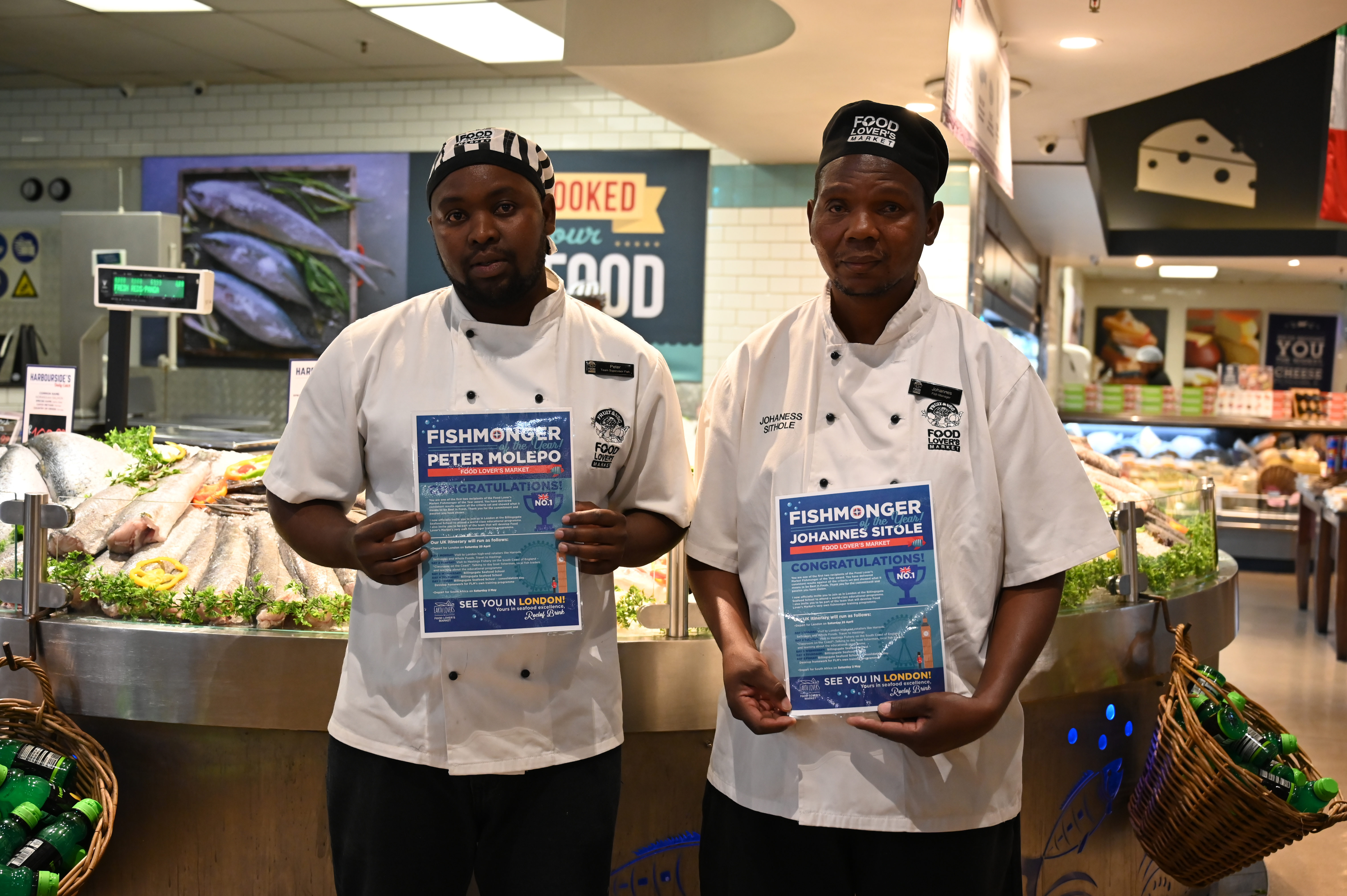 Winners of the Food Lovers Fishmonger awards