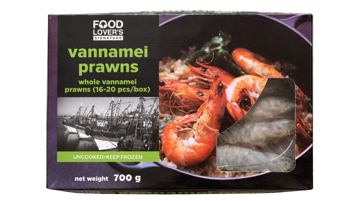 Food Lover's  Vannamei Prawns – cut and deveined