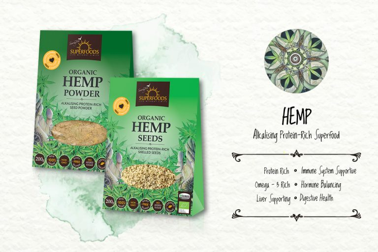 Soaring Free Superfoods:  Boost your Immune system with Hemp Seeds as Complete Protein