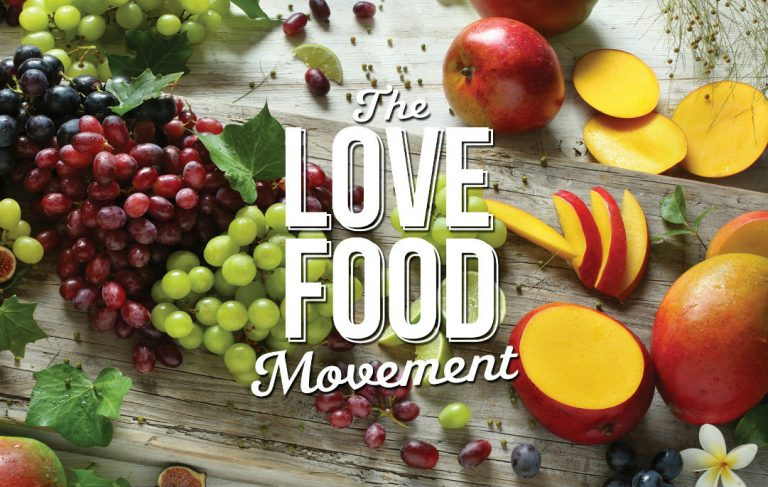Join Our Love Food Movement2017