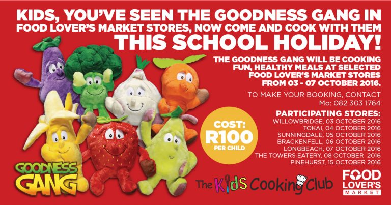 Goodness Gang Kids Cooking Classes To Begin These Holidays