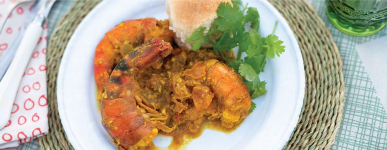 Sarah Graham's Prawn And Coconut Curry