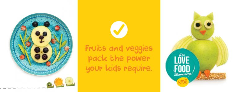 Tips on getting kids to enjoy more fruit and vegetables: