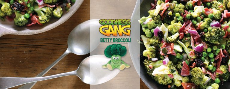 Betty Broccoli & Bacon One Pan Fry Up
