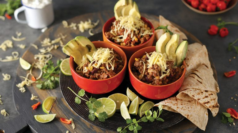 MEXICAN BEEF MINCE BURRITO BOWLS