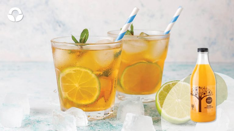 Cranberry Apple Rooibos Iced Tea