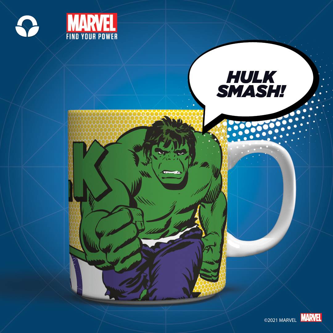 Marvel Super Hero mugs