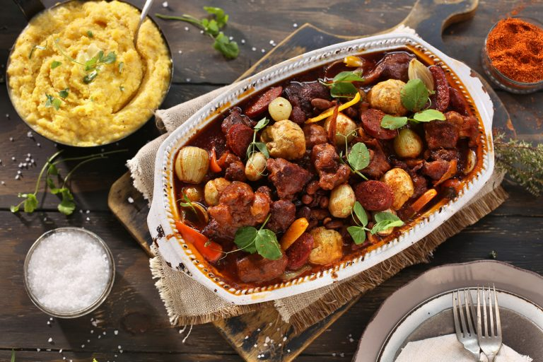 SPANISH STYLE OXTAIL CASSEROLE