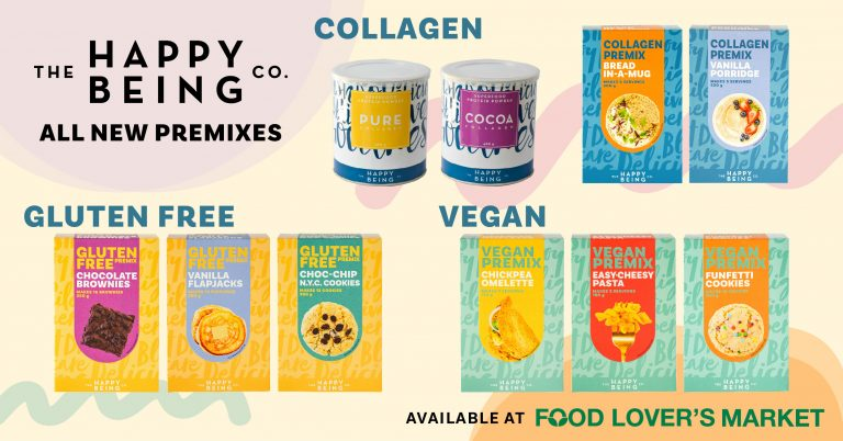 Happy Being Co. range at Food Lover's Market