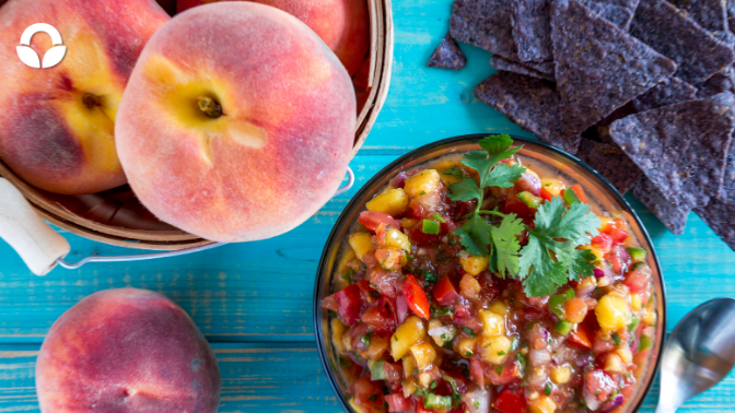 Summer Stone Fruit Salsa