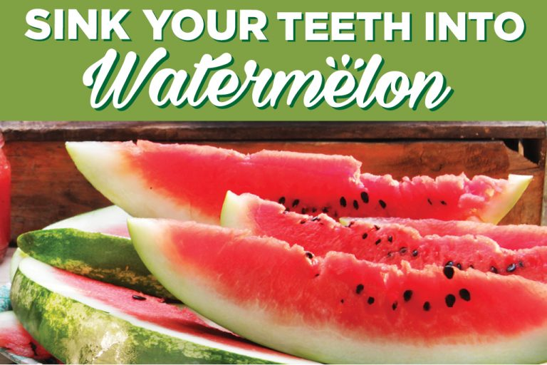 Sink your teeth into Watermelon!