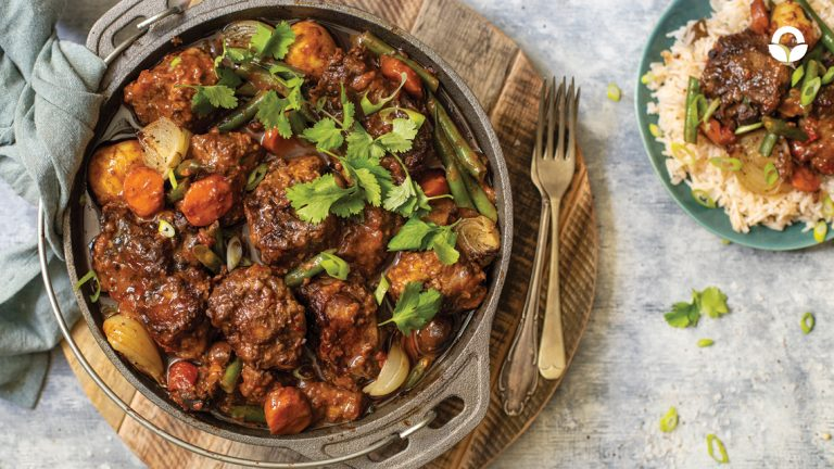 Red Wine Oxtail Potjie