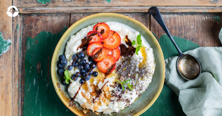 Berry and Coconut Mieliepap Breakfast Bowl
