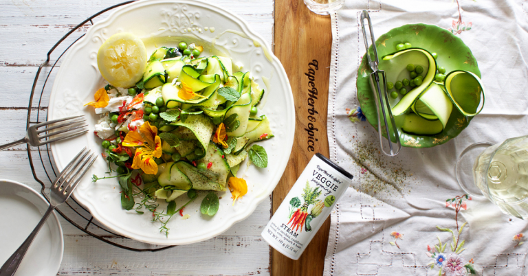 Courgette pappardelle
