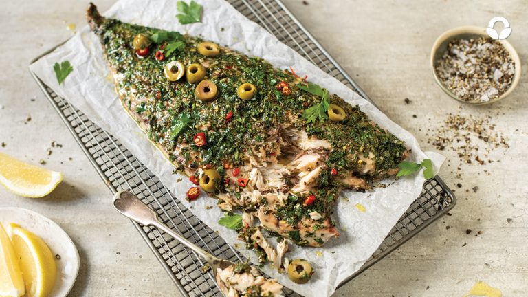 Zesty Chilli and Herb-crusted Yellowtail