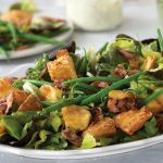food lovers crispy potato salad