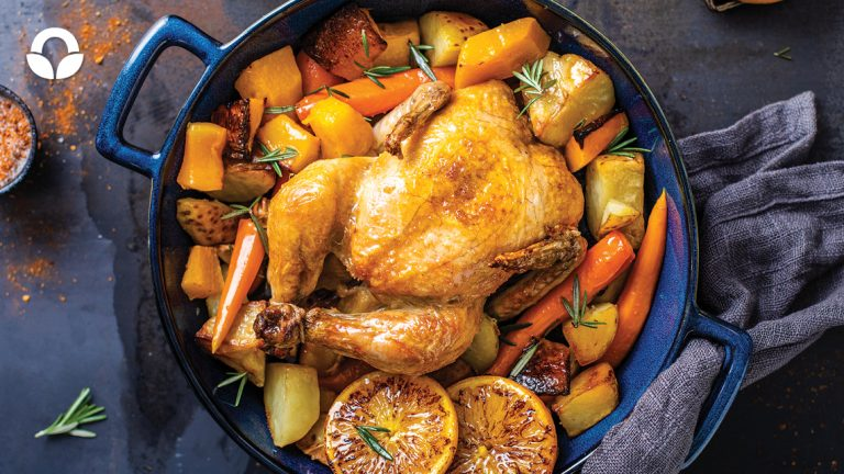 The perfect pot roast chicken