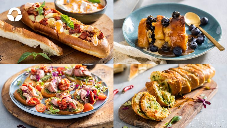 4 ways with French Loaf