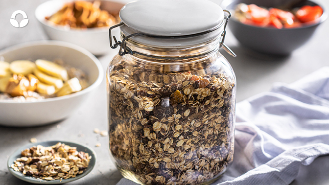 Festive Overnight Oat Pantry Mix